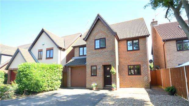 4 Bedrooms Detached House for sale in Gower Park, College Town, Sandhurst