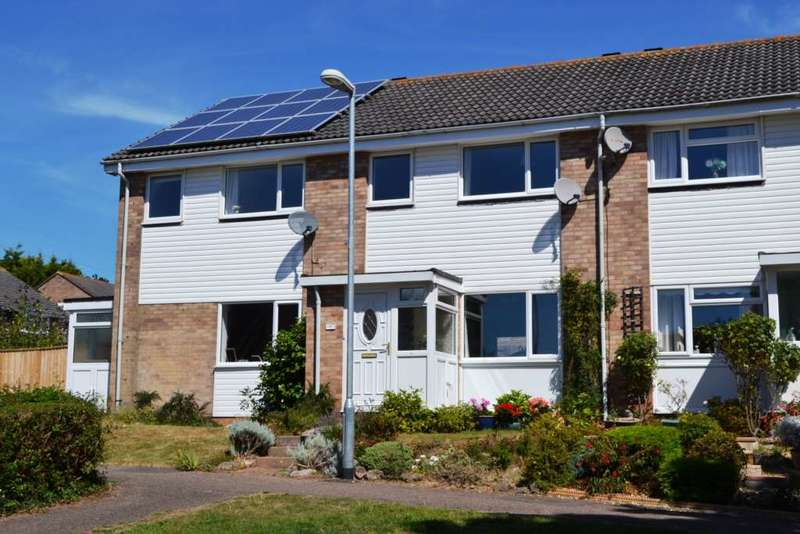 3 Bedrooms Terraced House for sale in Hollymount Close, Exmouth