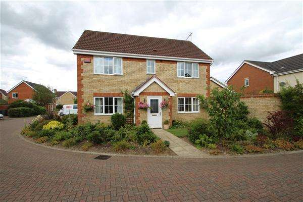 4 Bedrooms Detached House for sale in Jackson Close, Kesgrave, Ipswich