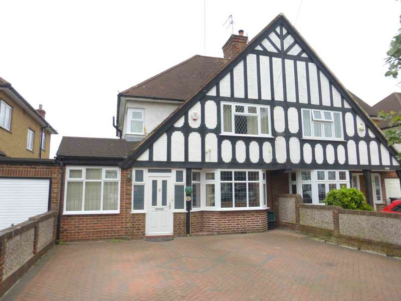 4 Bedrooms Semi Detached House for sale in Tudor Avenue, Watford
