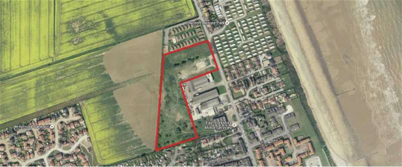 Land Commercial for sale in Cliff Road, Hornsea, East Yorkshire