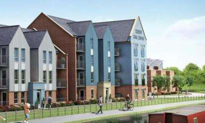 2 Bedrooms Flat for sale in City Wharf, Foleshill Road, Coventry