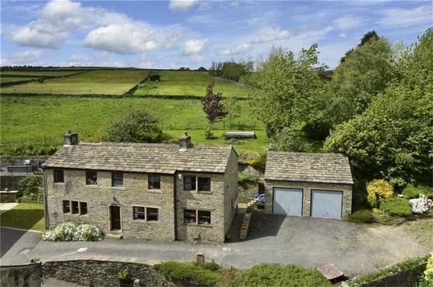 4 Bedrooms Detached House for sale in Shaw Lane, HOLMFIRTH, West Yorkshire
