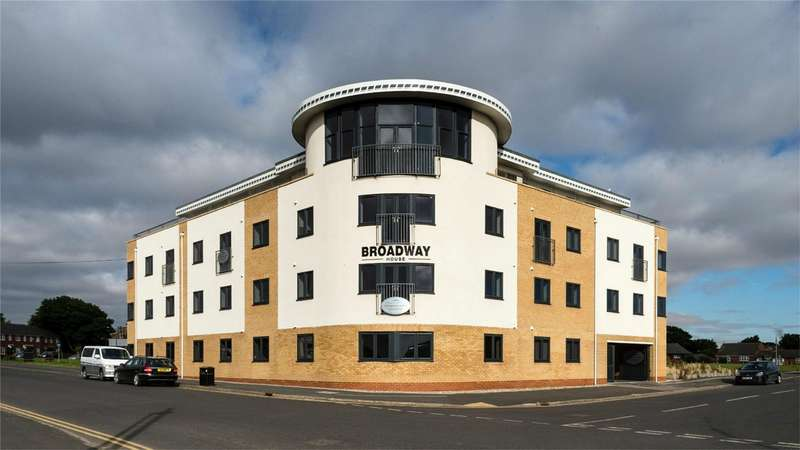 2 Bedrooms Flat for sale in Broadway House, The Broadway, Hornsea