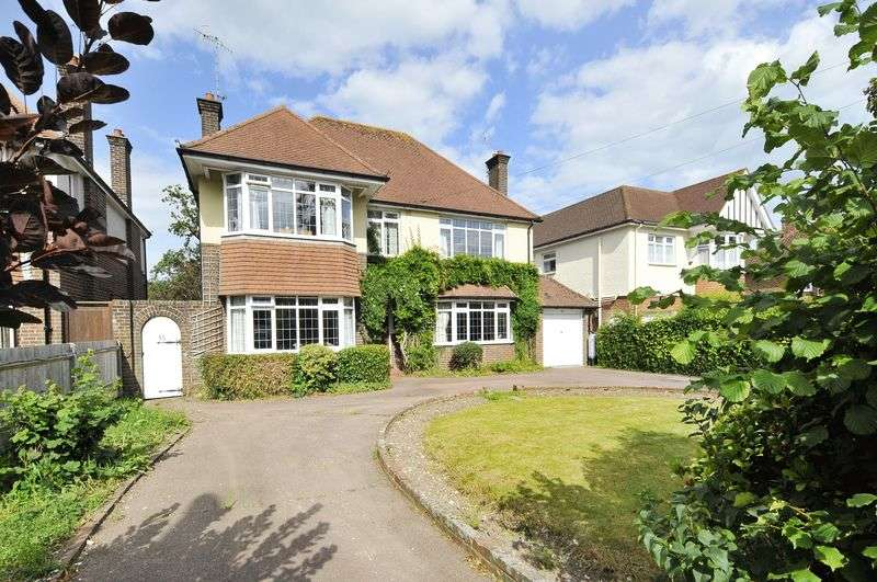 5 Bedrooms Detached House for sale in Offington Avenue, Worthing