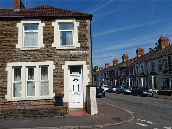 3 Bedrooms End Of Terrace House for sale in Upper Kincraig Street, Cardiff