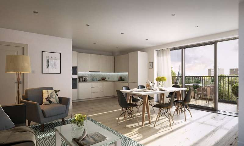 2 Bedrooms Flat for sale in Cambium, Southfields, SW19
