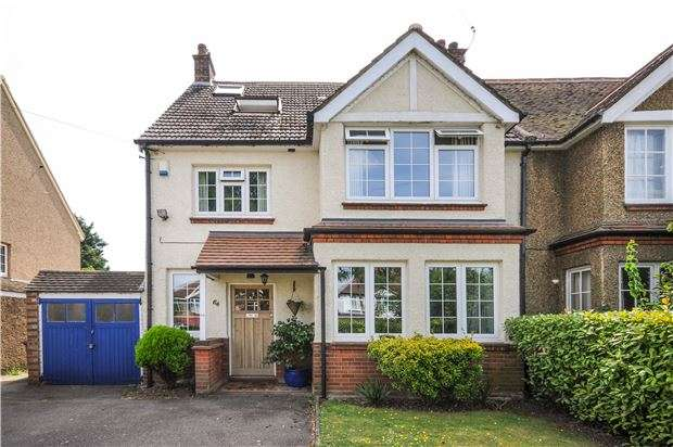 5 Bedrooms Semi Detached House for sale in Link Lane, WALLINGTON, Surrey, SM6 9DZ