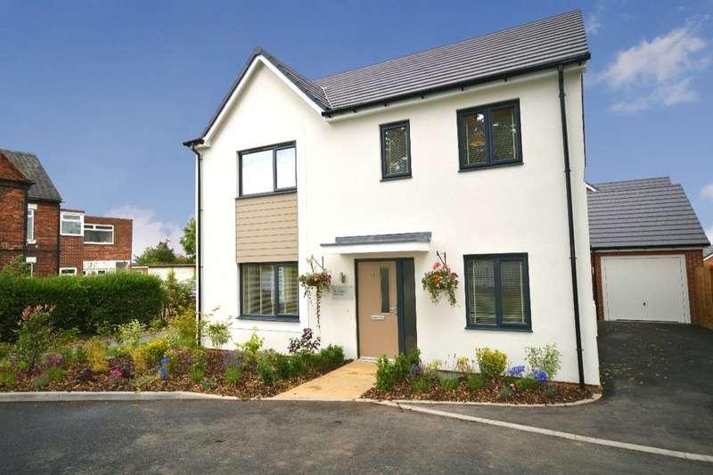 4 Bedrooms Detached House for sale in Hewer Drive, Castle Gresley, Swadlincote, DE11