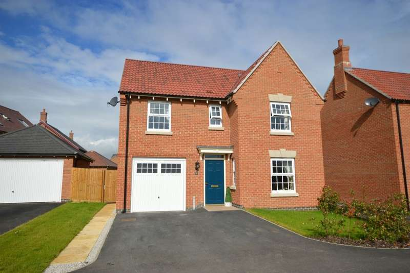 4 Bedrooms Detached House for sale in Frances Way, Ibstock, LE67