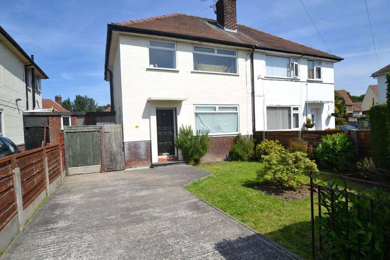3 Bedrooms Semi Detached House for sale in Kent Avenue, Cheadle Hulme
