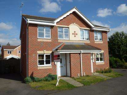 2 Bedrooms Semi Detached House for sale in Anglesey Close, Lincoln, Lincolnshire