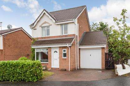 3 Bedrooms Detached House for sale in Mulberry Wynd, Cambuslang, Glasgow, South Lanarkshire