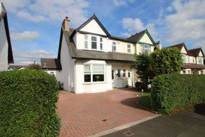 4 Bedrooms Semi Detached House for sale in Baronscourt Gardens, Paisley