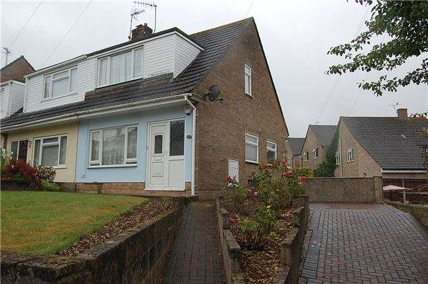 3 Bedrooms Semi Detached House for sale in Valley View Road, Stroud, Gloucestershire, GL5 1HW