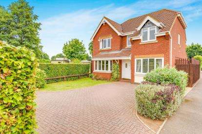 5 Bedrooms Detached House for sale in Sheepwalk Close, Potton, Sandy, Bedfordshire