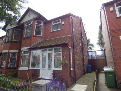 4 Bedrooms Semi Detached House for sale in Grange Avenue, Stretford, Manchester, Greater Manchester