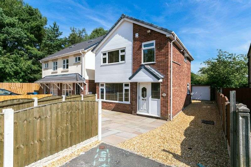 3 Bedrooms Detached House for sale in Severn Drive, Hindley Green, WN2 4TW