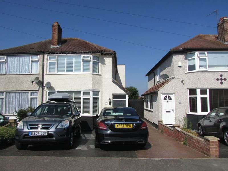 3 Bedrooms Semi Detached House for sale in St Audrey Avenue, Bexleyheath