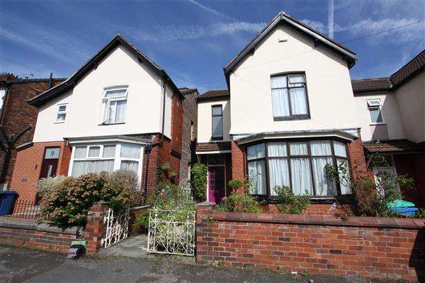 3 Bedrooms Detached House for sale in Harrogate Ave, Prestwich