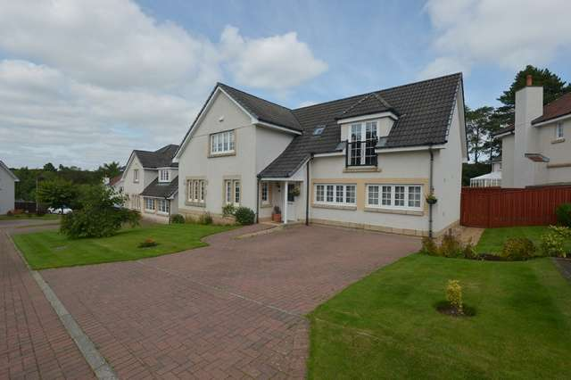 5 Bedrooms Detached House for sale in Bellefield Crescent, Lanark, South Lanarkshire, ML11 7QY