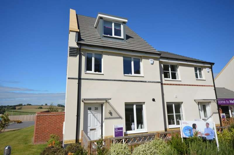3 Bedrooms Semi Detached House for sale in The Rackenfod Ashburton Road, Newton Abbot, TQ12
