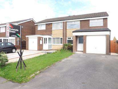 3 Bedrooms Semi Detached House for sale in Central Drive, Penwortham, Preston, Lancashire, PR1