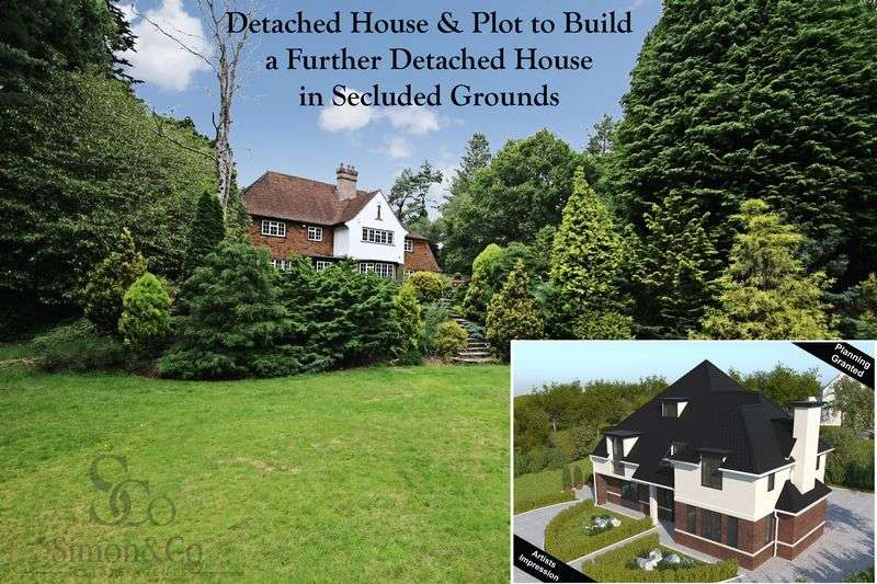 "5 Bedrooms Detached House for sale in ""Woodlands"" House + Plot, Green Lane, Chilworth, Southampton"