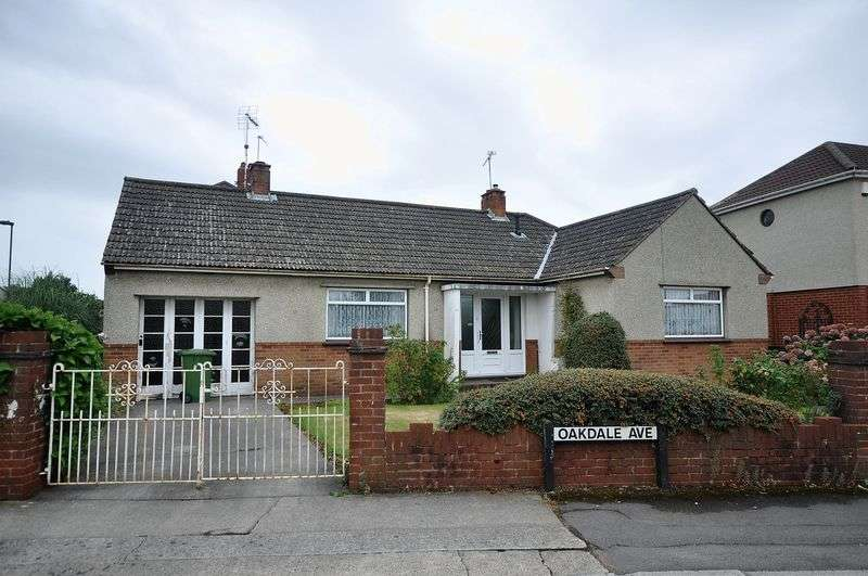 2 Bedrooms Detached Bungalow for sale in Oakdale Avenue Downend