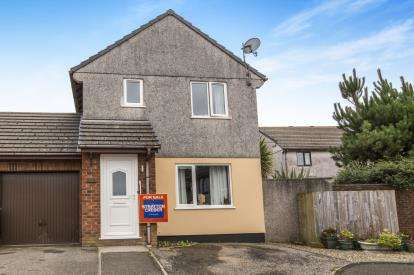 3 Bedrooms Link Detached House for sale in Fraddon, St. Columb, Cornwall