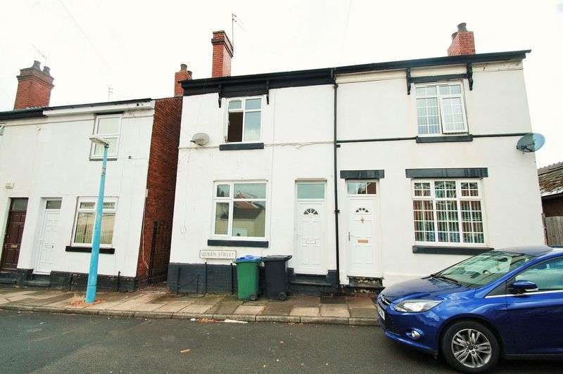 3 Bedrooms Semi Detached House for sale in Queen Street, Wednesbury WS10 7PT