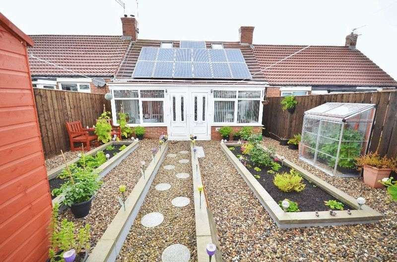 2 Bedrooms Bungalow for sale in Frank Avenue, Seaham