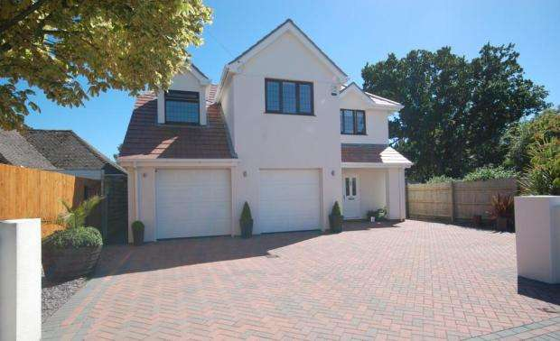 5 Bedrooms Detached House for sale in Lilliput, Poole, BH14