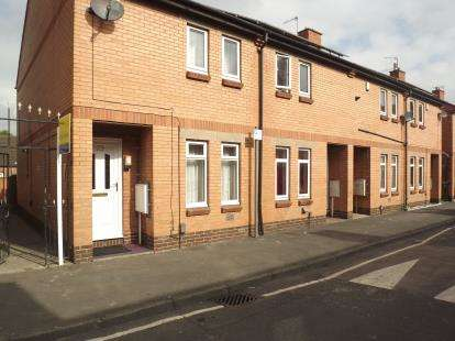 2 Bedrooms End Of Terrace House for sale in Thurman Street, Nottingham, Nottinghamshire