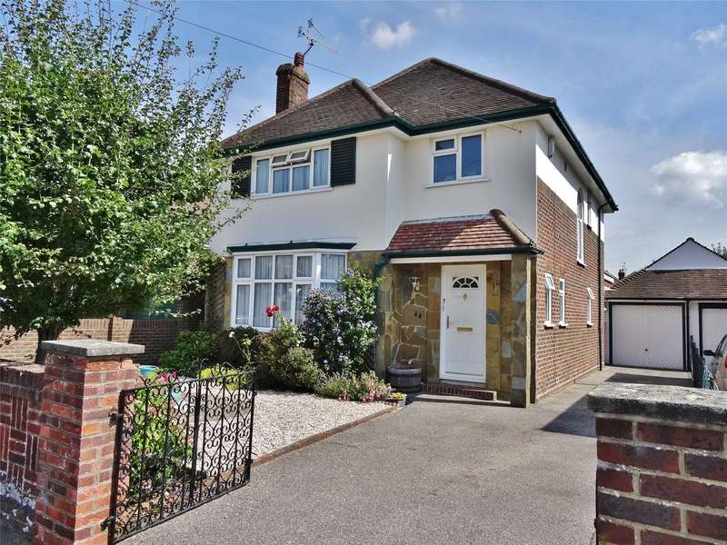 4 Bedrooms Detached House for sale in Cissbury Road, Broadwater, Worthing, BN14