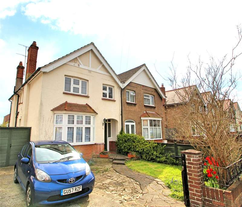 3 Bedrooms Semi Detached House for sale in Shermanbury Road, Worthing, West Sussex, BN14