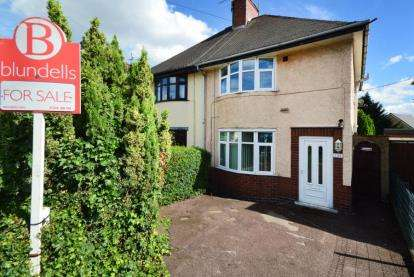 2 Bedrooms Semi Detached House for sale in Baden Powell Road, Chesterfield, Derbyshire