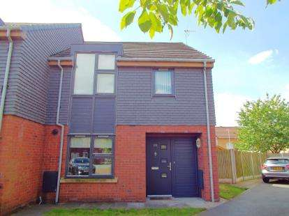 3 Bedrooms Semi Detached House for sale in Anaconda Drive, Salford, Greater Manchester