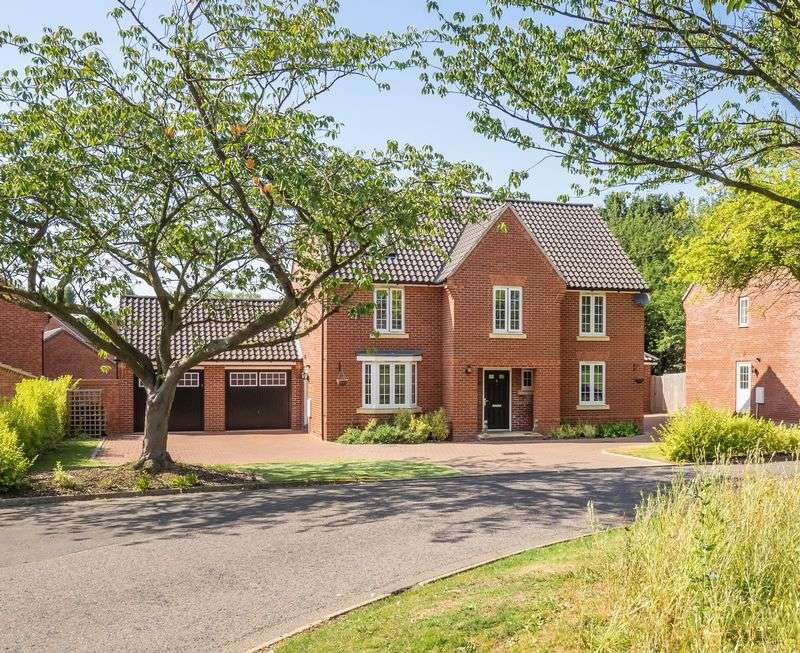 4 Bedrooms Detached House for sale in Dowding Road, Catton,Norwich