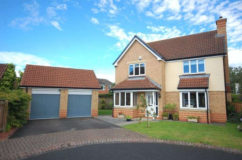 4 Bedrooms Detached House for sale in Harebell Close, Northallerton