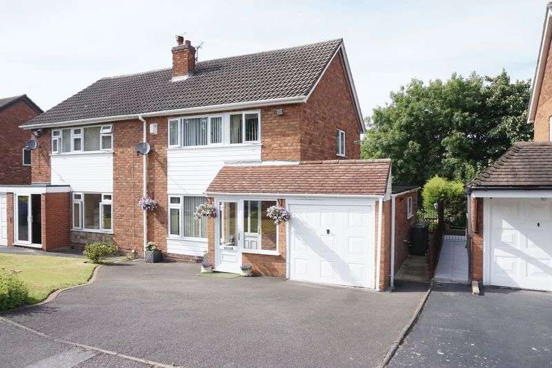 3 Bedrooms Semi Detached House for sale in Ambergate Close, Walsall