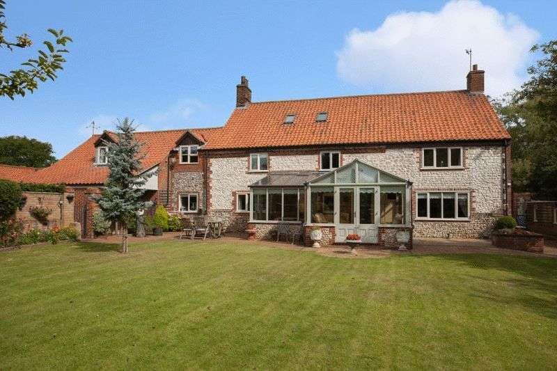 5 Bedrooms Detached House for sale in South Creake, Norfolk