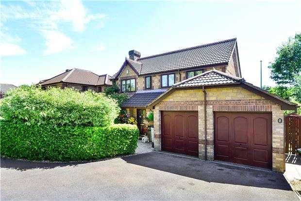 4 Bedrooms Detached House for sale in Underleaf Way, Peasedown St. John, BA2 8SY