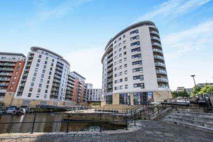 2 Bedrooms Flat for sale in Magellan House, Armouries Way, Leeds, West Yorkshire