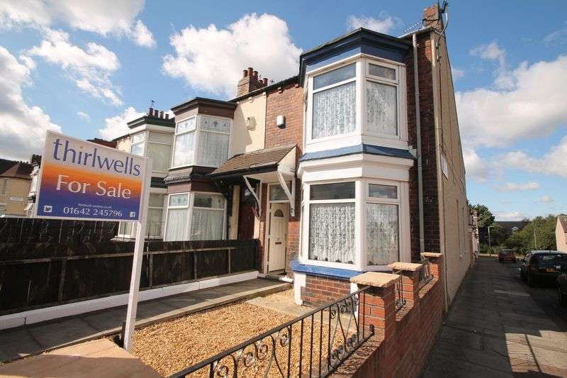3 Bedrooms Terraced House for sale in West Terrace, North Ormesby