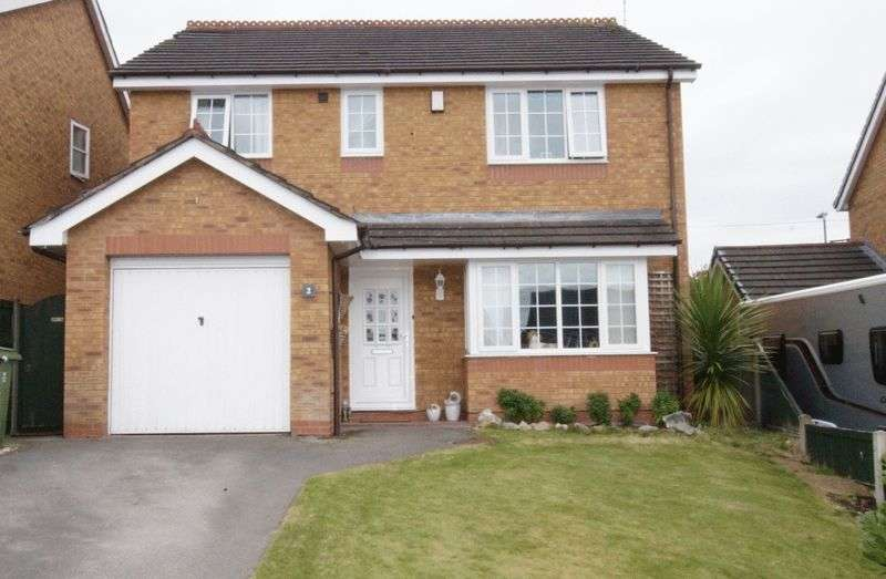 4 Bedrooms Detached House for sale in Lindisfarne Close, Wrexham