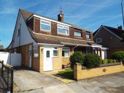 3 Bedrooms Semi Detached House for sale in Eastham Crescent, Clock Face, St. Helens, Merseyside, WA9