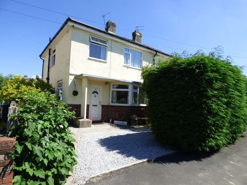 3 Bedrooms Semi Detached House for sale in Garnett Road, Clitheroe, Lancashire, BB7