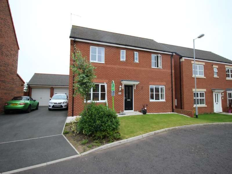 4 Bedrooms Detached House for sale in Ilderton Crescent, Seaton Delaval, Whitley Bay, NE25