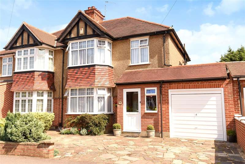 3 Bedrooms Semi Detached House for sale in Crescent Gardens, Eastcote, Middlesex, HA4